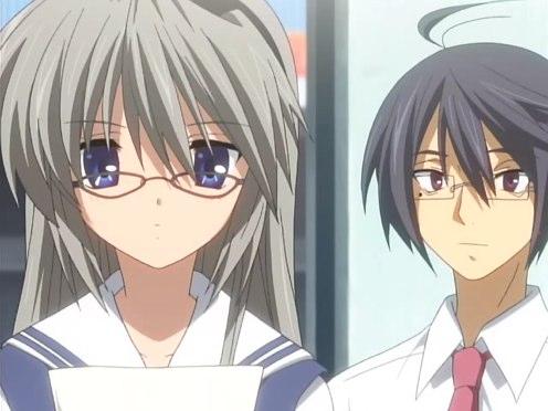 Sakagami and her reliable sidekick