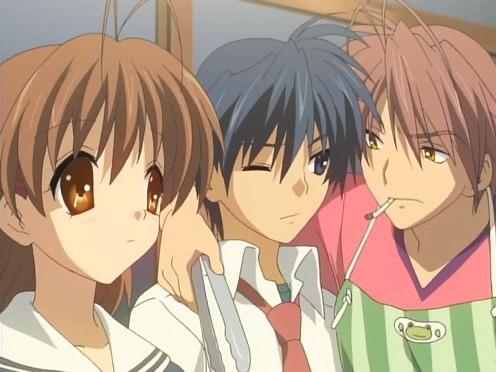 Isn't Akio getting a little more buddy-buddy with Okazaki?