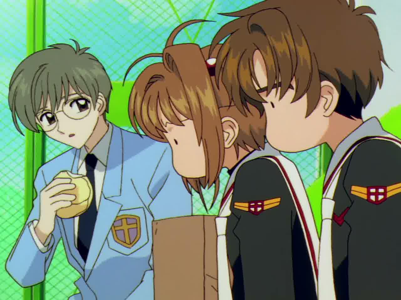 cardcaptor sakura sakura and syaoran kiss wwwpixshark